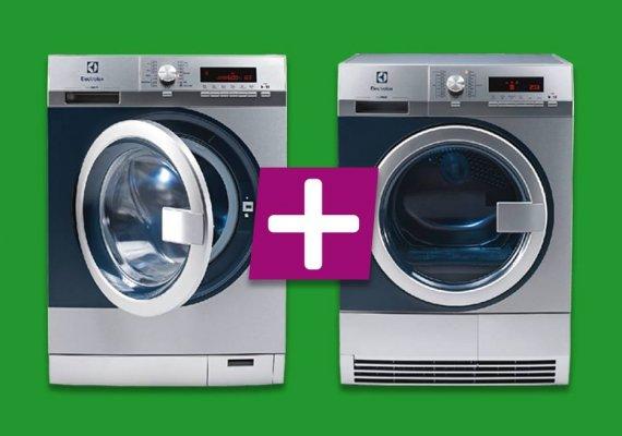 Waschmaschine we 170p mypro und trockner te1120 mypro sind perfekt